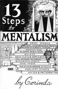 a book by Tony Corinda 13 steps to mentalism