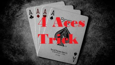 4 aces card trick