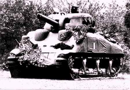 Dummy tank created by jasper maskelyne