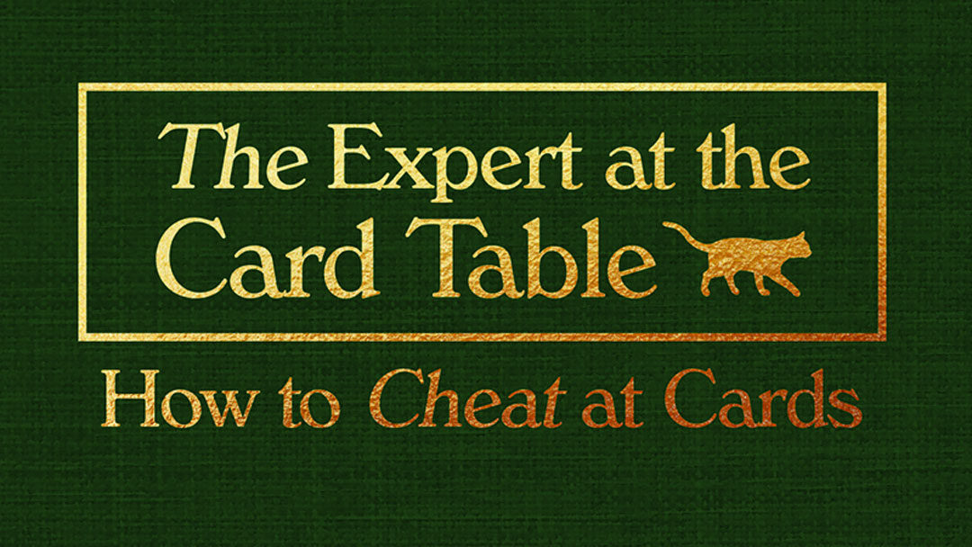 S. W. Erdnase the expert at the card table