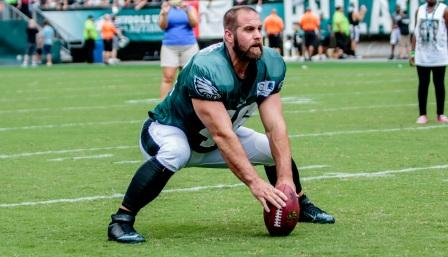 jon dorenbos playing football from eagle