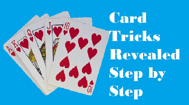 magic card trick revealed step by step