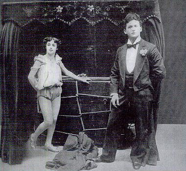 harry houdini and bess houdini working together