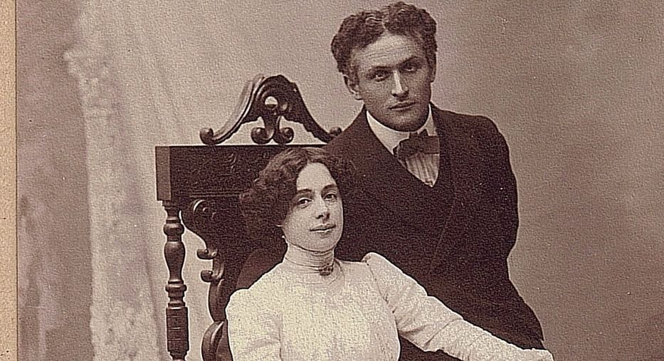 bess houdini and harry houdini after marriage