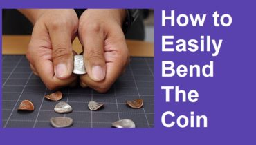 easy coin bending trick