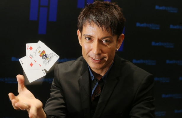 cyril takayama with cards