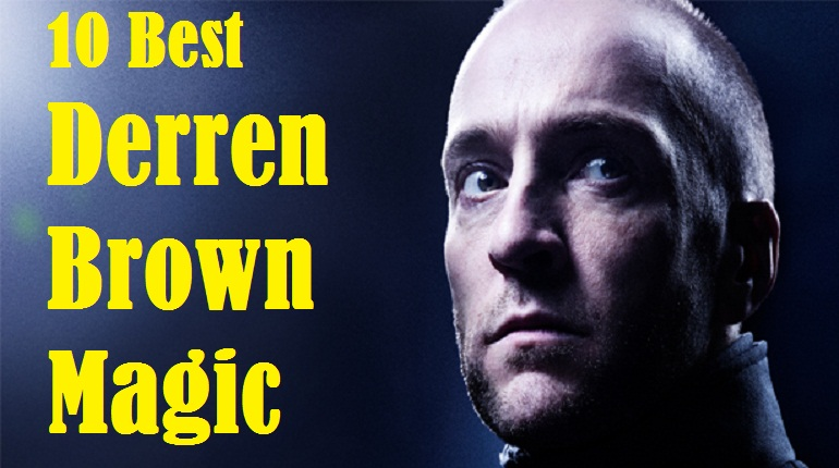 Derren brown magic tricks