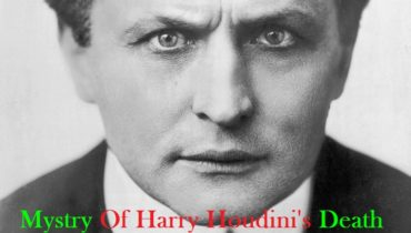 Mystry's of Harry Houdini's death