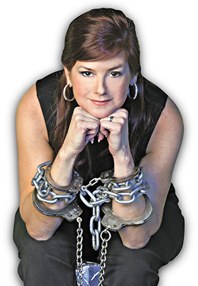 female magician kristen jonson