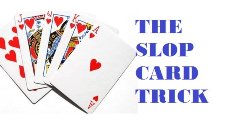 slop card trick
