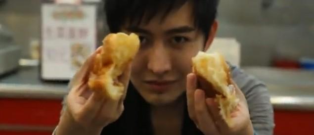 yif magician doing his bread trick