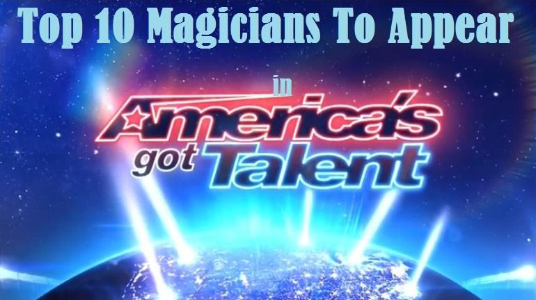 top 10 agt magicians