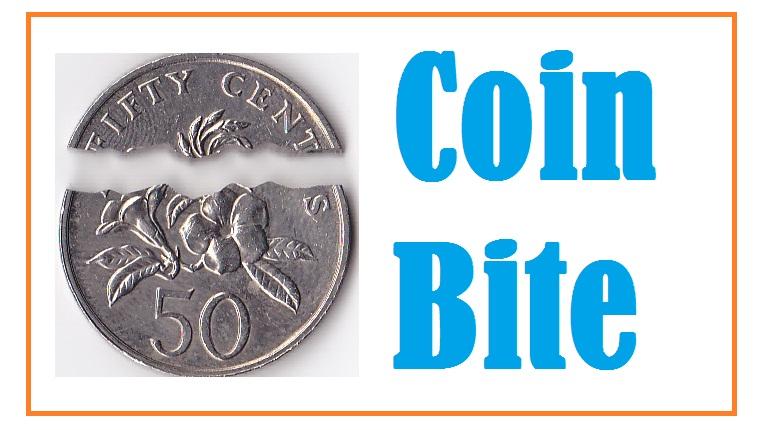 coin bite trick