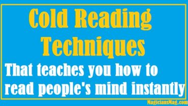 8 awesome cold reading techniques to learn for beginners