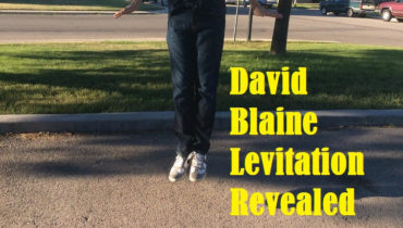 david blaine levitation revealed