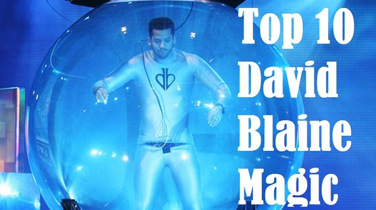 David blaine magic where is he drowned alive