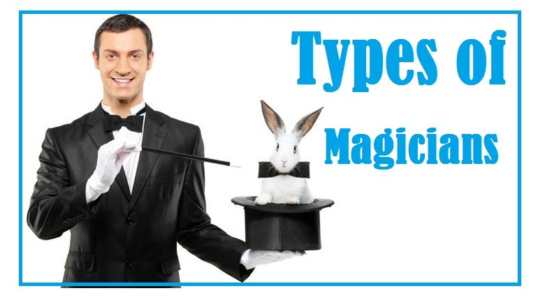 types of magicians banner